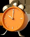 Relógio enfatizando o horário