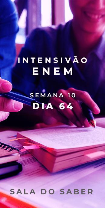 DIA 64 - SEMANA 10 - 2020