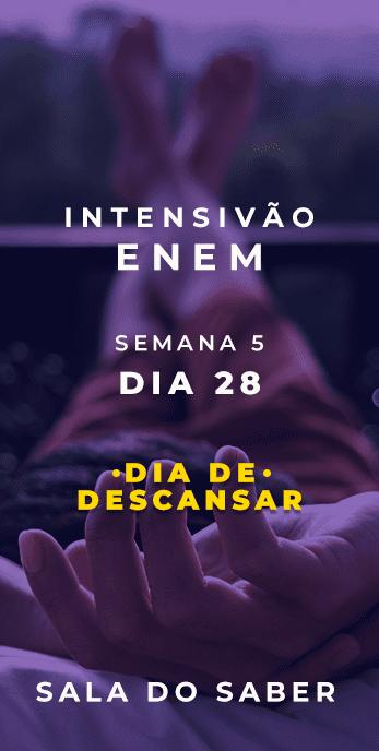 DIA 28 - SEMANA 04 - 2020