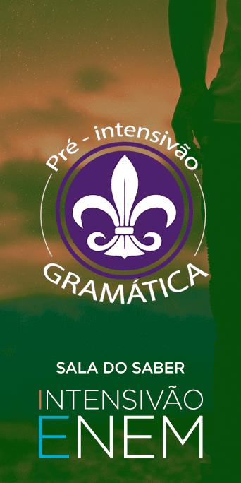 Pré-Intensivão: Gramática