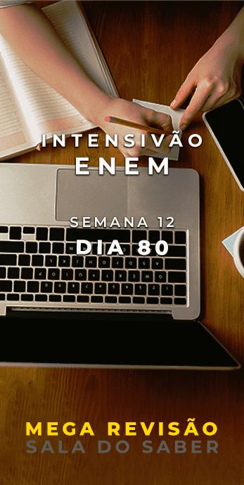 DIA 80 - SEMANA 12 - 2020