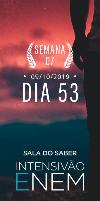 DIA 53 - SEMANA 7 - INTENSIVÃO ENEM