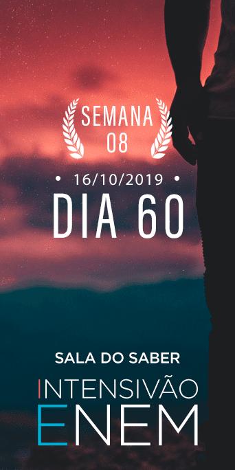 DIA 60 - SEMANA 8 - INTENSIVÃO ENEM