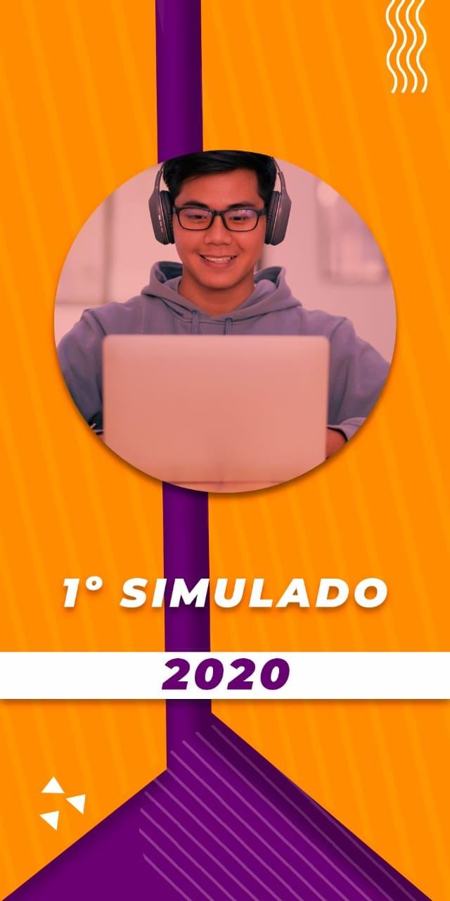 PRIMEIRO SIMULADO 2020