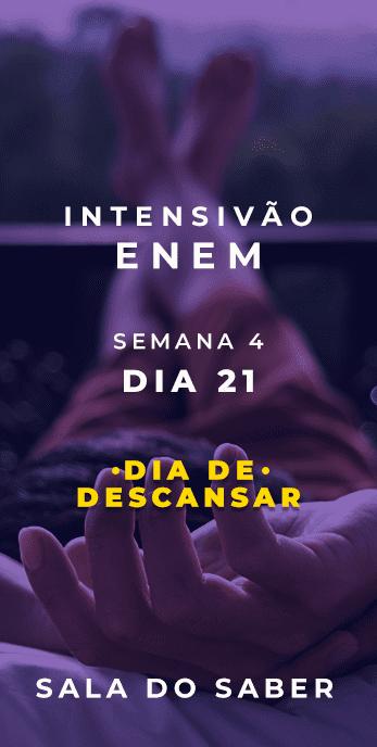 DIA 21 - SEMANA 04 - 2020