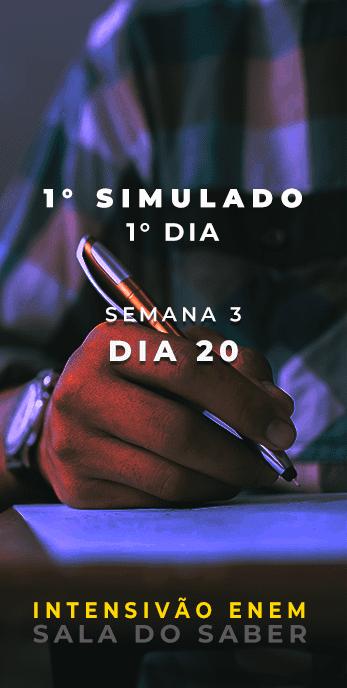 DIA 20 - SEMANA 03 - 2020